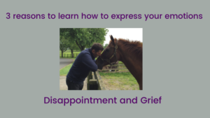 How to learn to express emotion